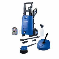 Nilfisk C110.7-5 Refurbished Pressure Washer with Patio Cleaner & Rotary Wash Brush